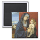 Madonna and Child by Giovanni Bellini Magnet