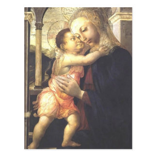 Madonna and Child  by Jacopo Bellini Postcard