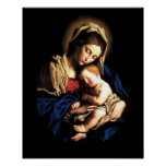 Madonna and Child Custom Poster