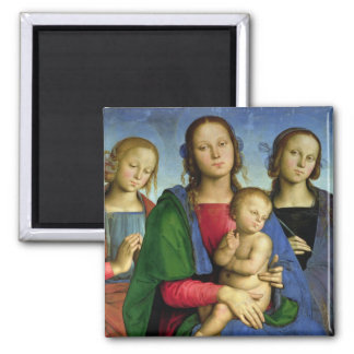 Madonna and Child Magnets