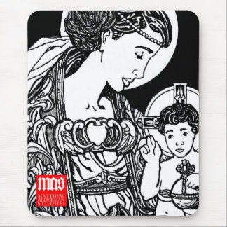 Madonna and Child Mousepad