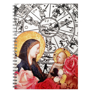 madonna and child notebook