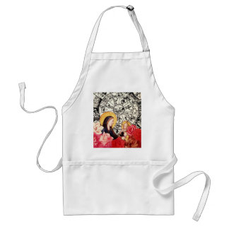madonna and child standard apron