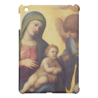Madonna and Child with Angels c.1510-15 (oil on pa iPad Mini Case