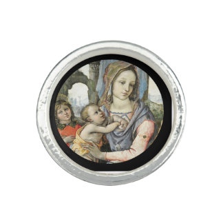 Madonna and Child with Saint Joseph and an Angel