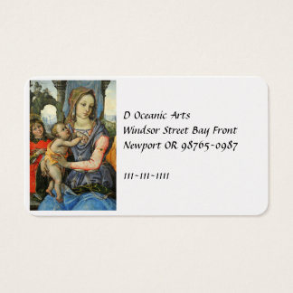 Madonna and Child with Saint Joseph and an Angel Business Card