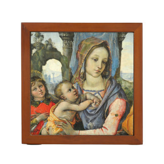 Madonna and Child with Saint Joseph and an Angel Desk Organiser