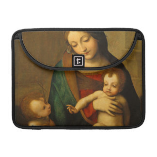 Madonna and Child with Saints MacBook Pro Sleeves