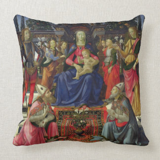 Madonna and Child with SS. Justus, Zenobius and th Cushion