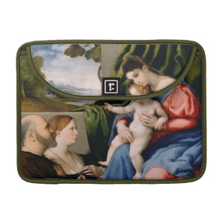 Madonna and Child with the Infant Saint John Sleeves For MacBook Pro