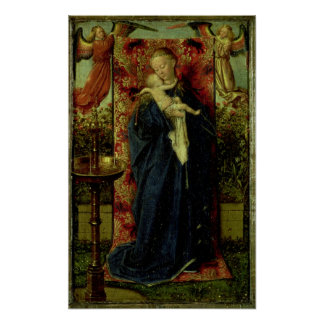 Madonna at the Fountain, 1439 Poster