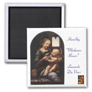 Madonna Benois - Sq Magnet - Parish