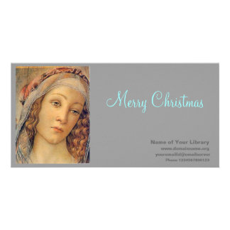 Madonna - Botticelli Customised Photo Card