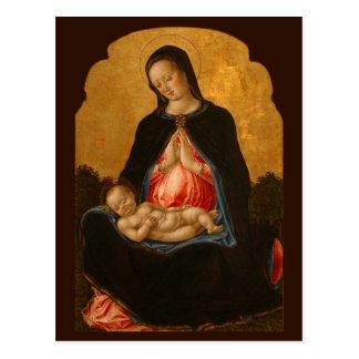 Madonna & Child art postcard