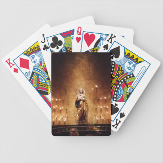 Madonna & Child Bicycle Playing Cards