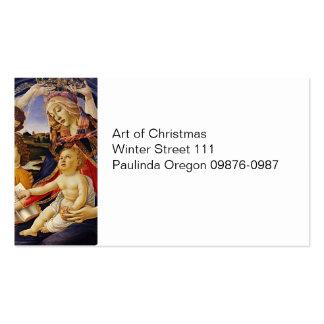 Madonna del Magnificat Pack Of Standard Business Cards