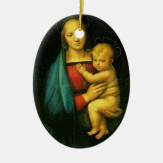 Madonna Dell Granduca - Raphael Ceramic Ornament
