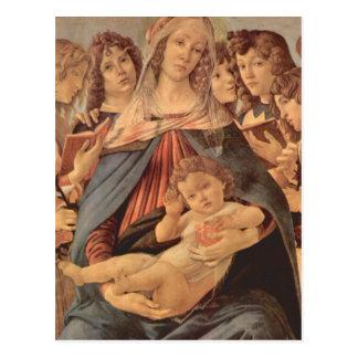 Madonna della Melagrana by Botticelli Postcard