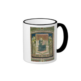 Madonna Enthroned with St. Francis of Assisi Mugs