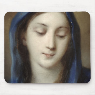Madonna from the chapel (pastel on paper) mouse pad