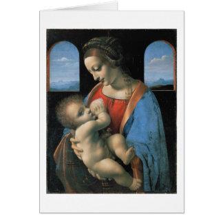Madonna Litta, Leonardo da Vinci Note Card