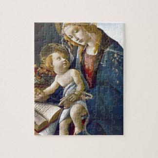 Madonna Madona Child Book religion painting Puzzles