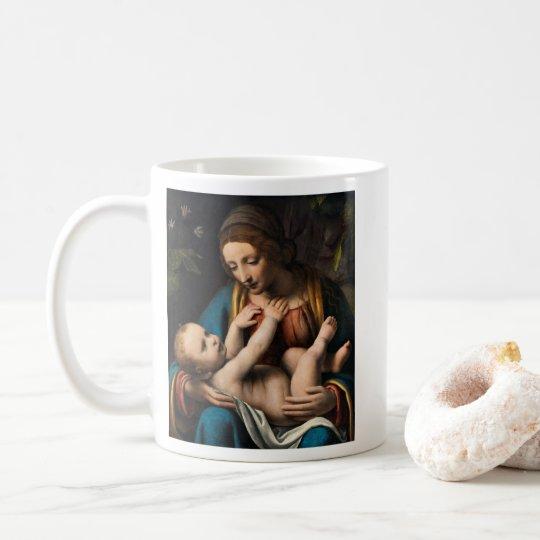 Madonna med Kristusbarnet Coffee Mug