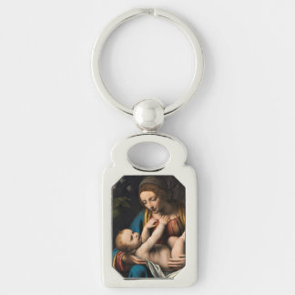 Madonna med  Kristusbarnet Key Ring