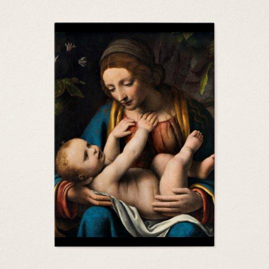 Madonna med Kristusbarnet.pg Business Card