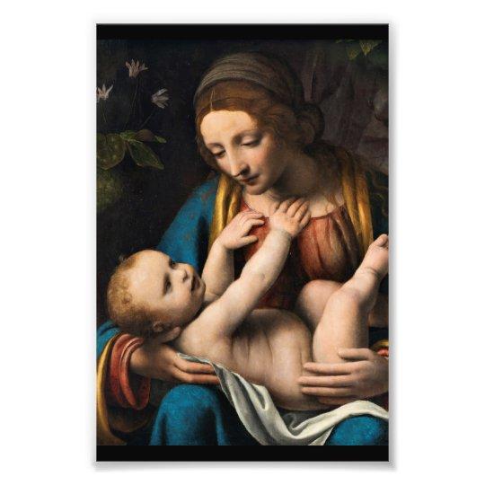 Madonna med Kristusbarnet.pg Photo Print