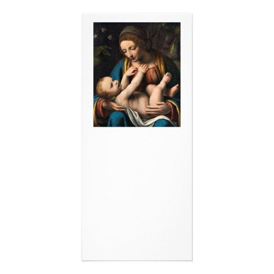 Madonna med Kristusbarnet.pg Rack Card