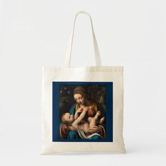 Madonna med Kristusbarnet Tote Bag