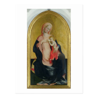 Madonna of Humility, c.1410 (tempera on panel) Postcard