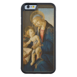 Madonna of the Book by Botticelli Carved® Maple iPhone 6 Bumper