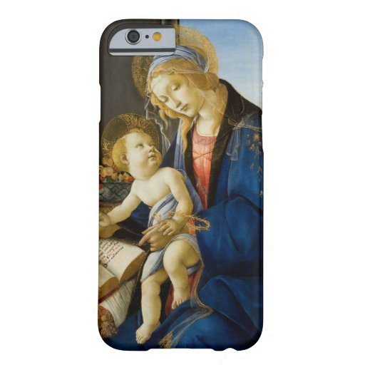 Madonna of the Book by Botticelli Barely There iPhone 6 Case