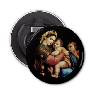 Madonna of the Chair Bottle Opener