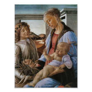 Madonna of the Eucharist by Botticelli Photo Print