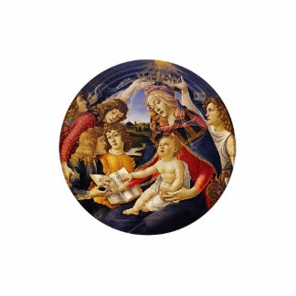 Madonna of the Magnificat by Botticelli Cut Out