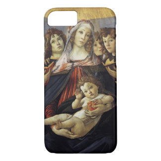 Madonna of the Pomegranate Botticelli iphone Case
