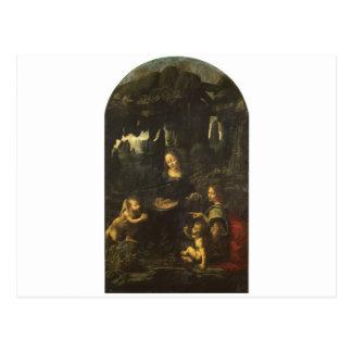 Madonna of the Rocks by Leonardo da Vinci c.1483 Postcard