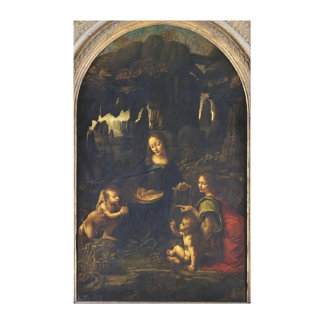 Madonna of the Rocks, c.1478 Canvas Print