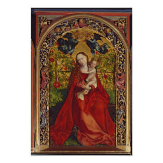 Madonna of the Rose Bower, 1473 Poster