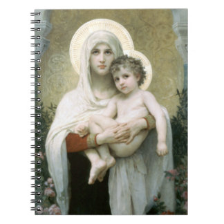 Madonna of the Roses Notebook
