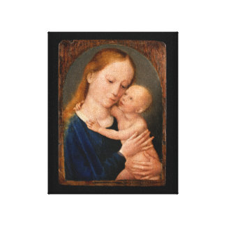 Madonna with Christ Child Canvas Print