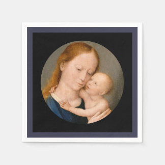 Madonna with Christ Child Disposable Serviette