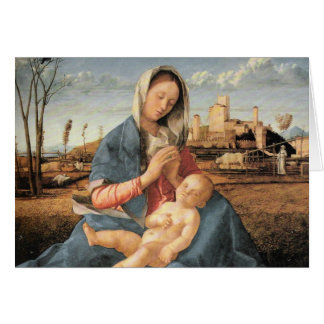 Madonna with Christ Child Greeting Card