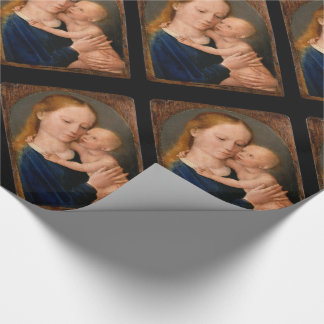 Madonna with Christ Child Wrapping Paper
