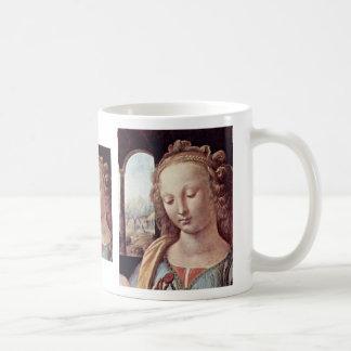 Madonna With The Carnation  By Leonardo Da Vinci Mugs