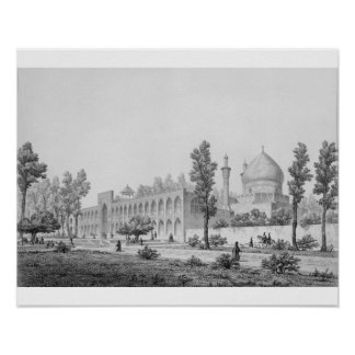 Madrasa-yi Masjid-i Shah Sultan Hussein, in Isfaha Poster