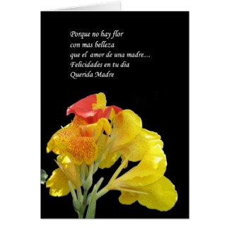 madre como tu no hay flor card